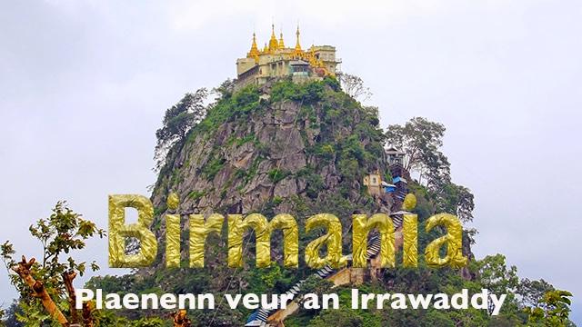 Birmania, plaenenn veur an Irrawady